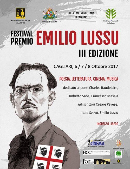 Manifesto Festival Premio Lussu III edizione