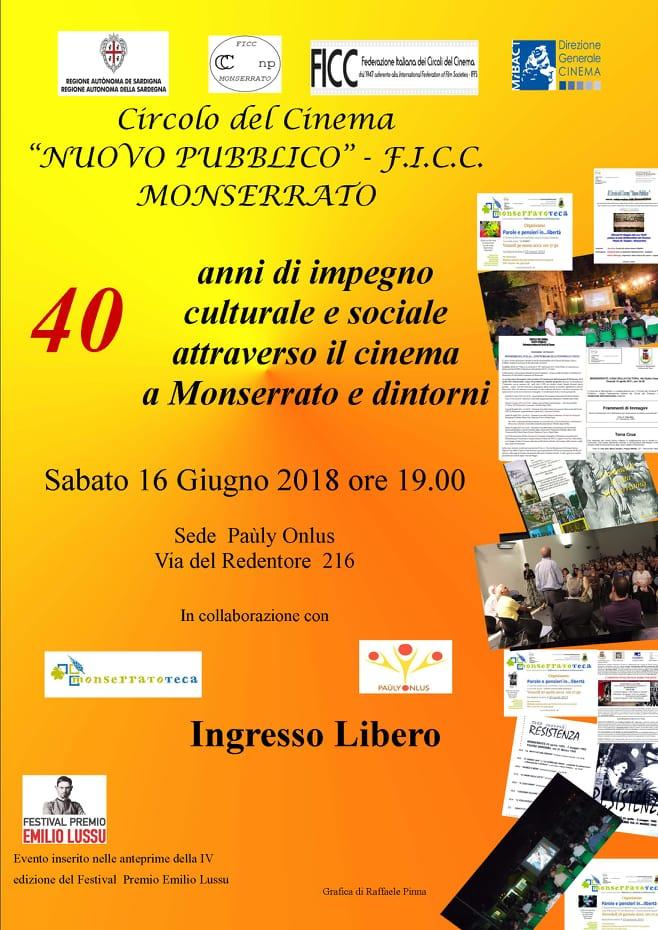 Anteprima IV Ediz. Festival Premio Emilio Lussu