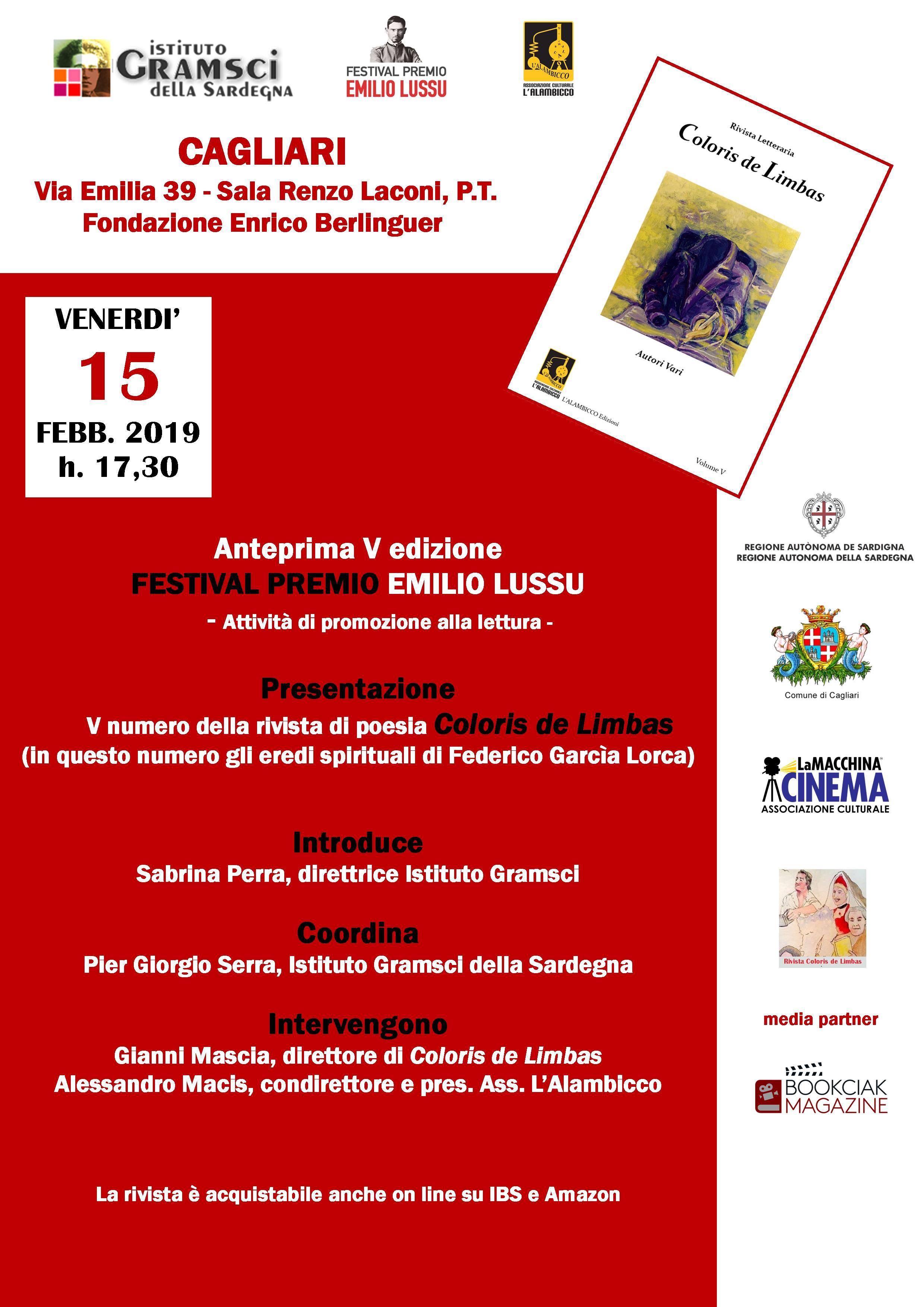 """Presentazione Della Rivista Poetica Letteraria Plurilingue """"Coloris De Limbas"""""""