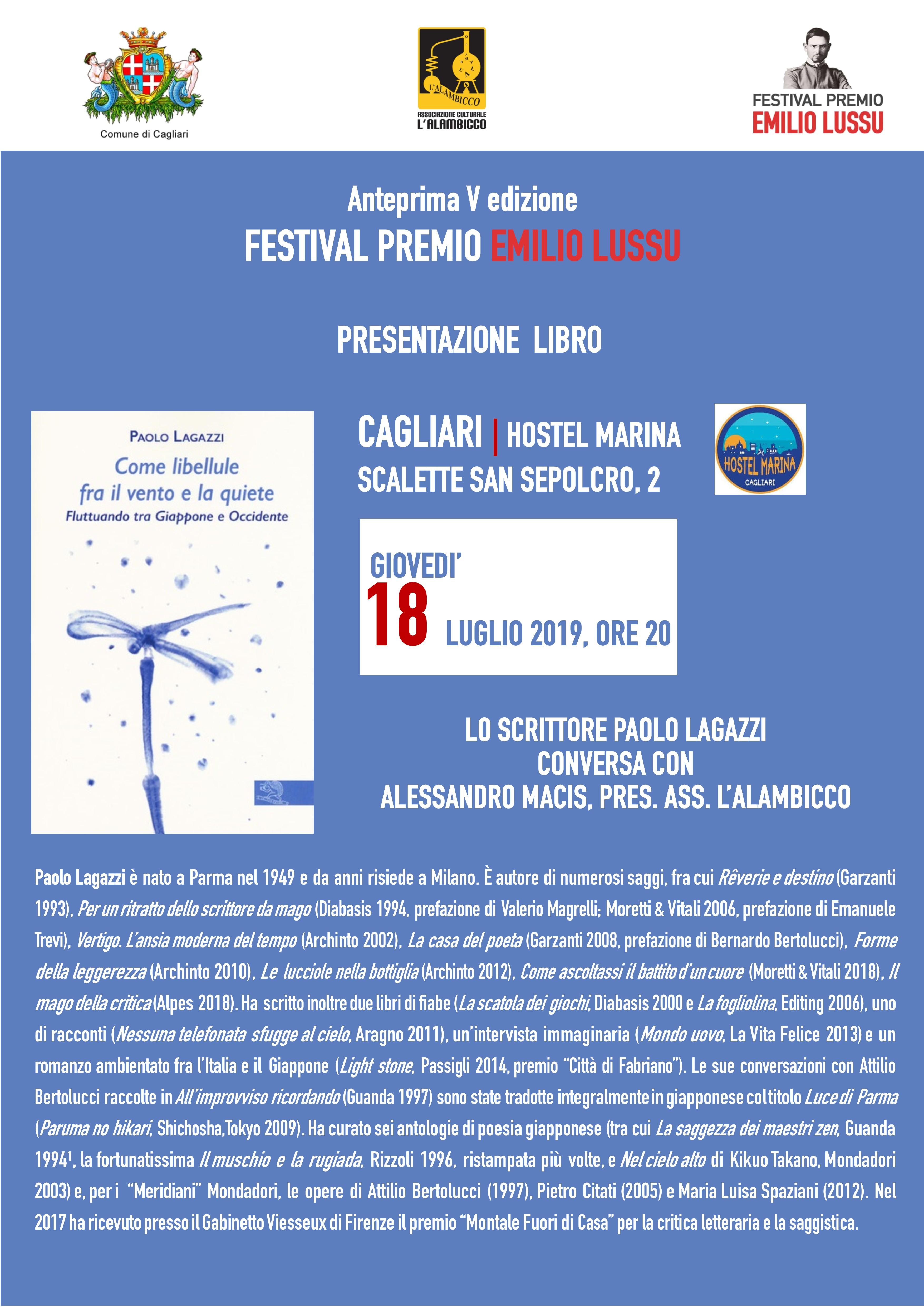Anteprima Festival – Presentazione Del Libro Di Paolo Lagazzi