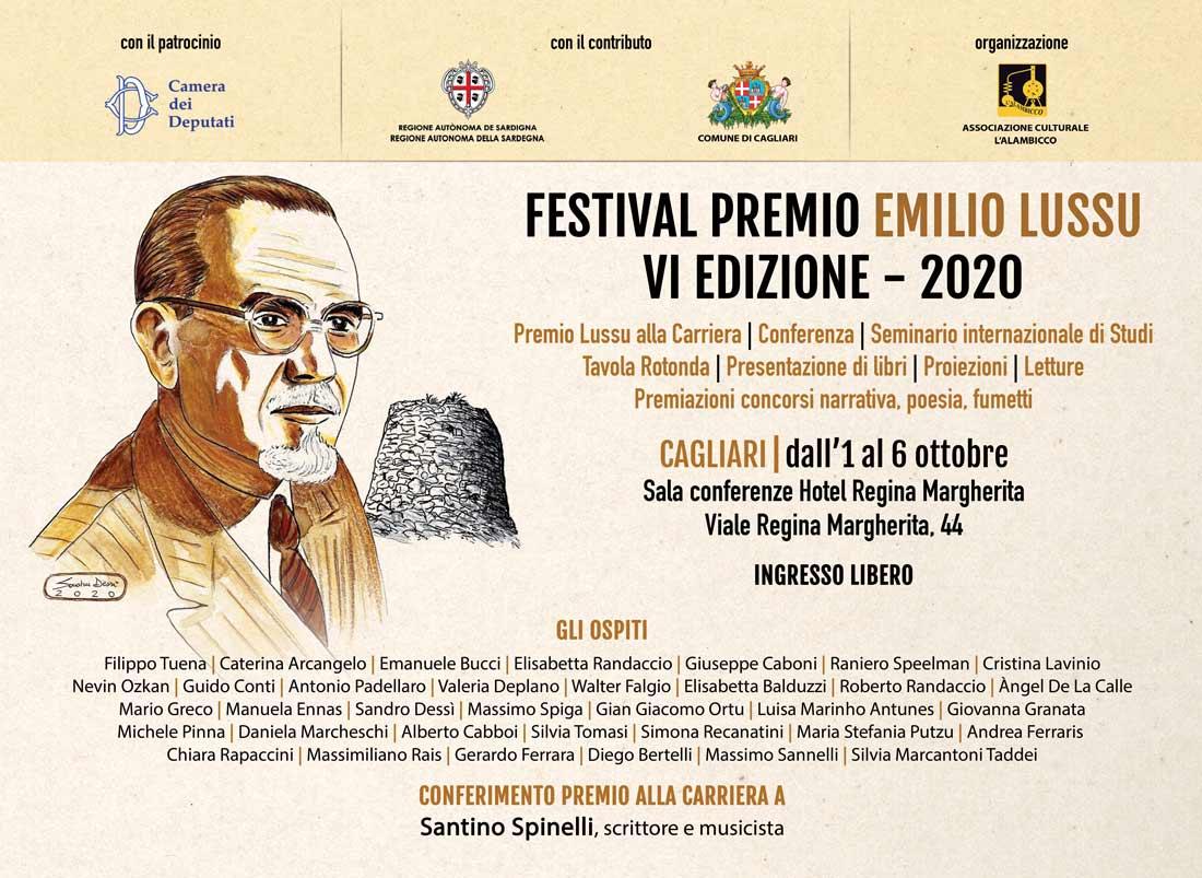 Programma Festival Premio Emilio Lussu VI edizione