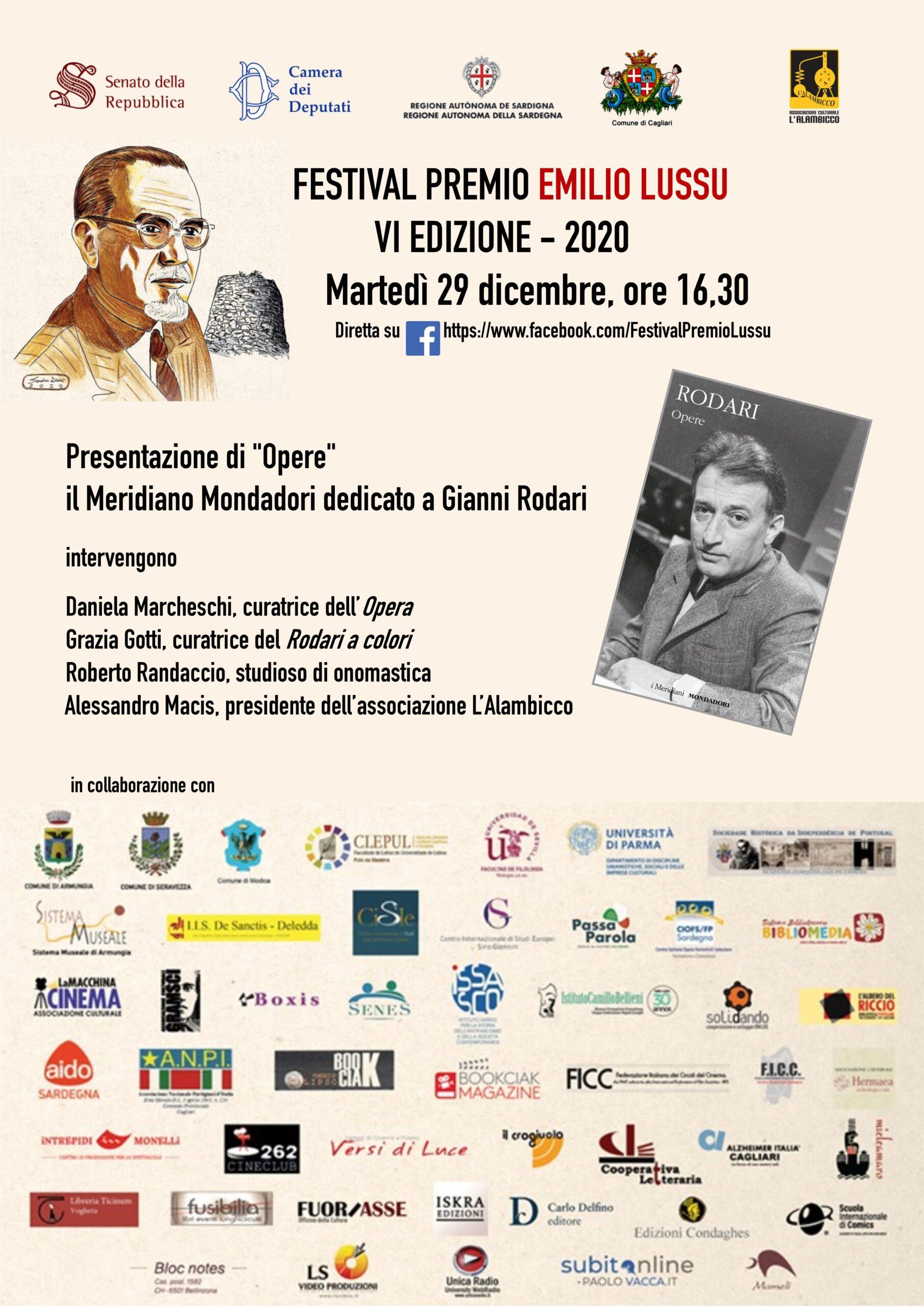 Presentazione Di OPERE, Il Meridiano Mondadori Su Gianni Rodari