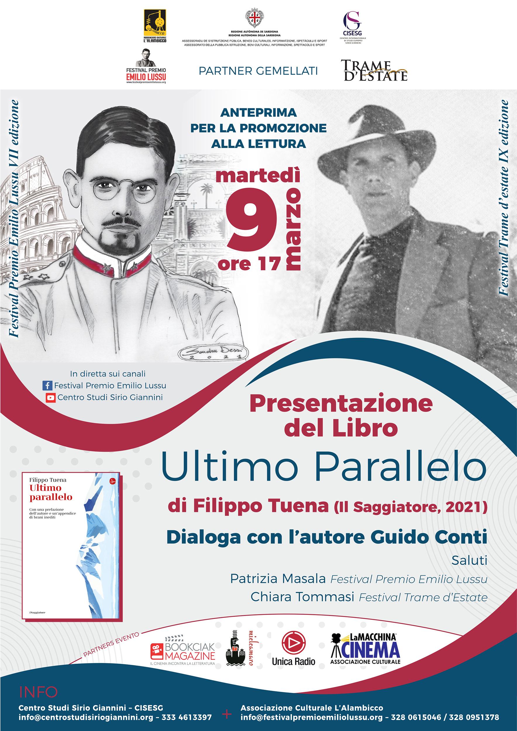 """Presentazione Di """"Ultimo Parallelo"""" Di Filippo Tuena"""