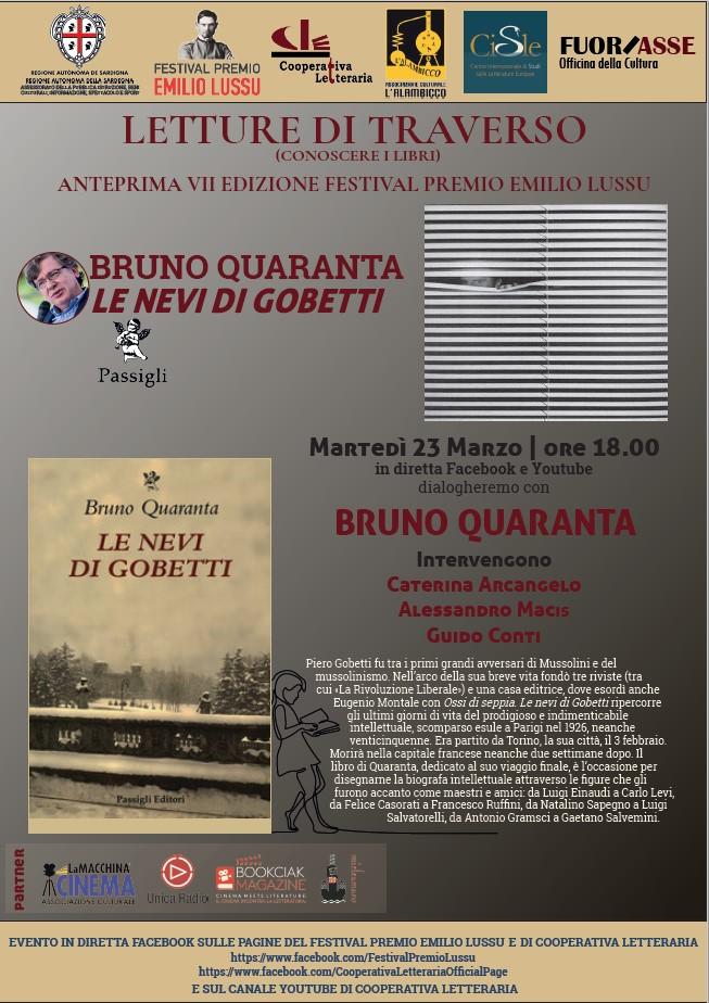 """Presentazione """"Le Nevi Di Gobetti"""" Di Bruno Quaranta"""