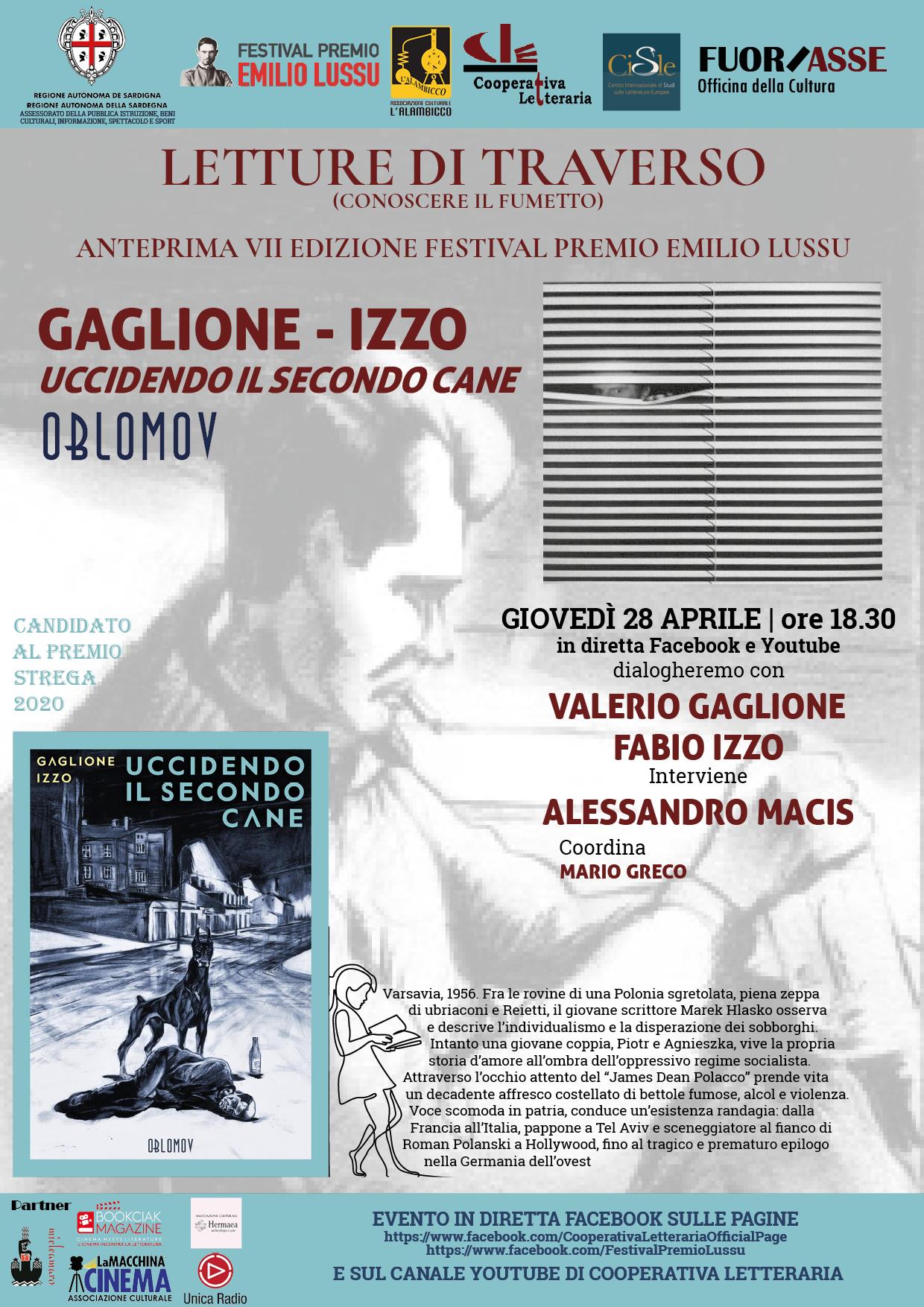 """Presentazione Del Libro """"Uccidendo Il Secondo Cane"""" Di Gaglione E Izzo (Oblomov, 2019)"""