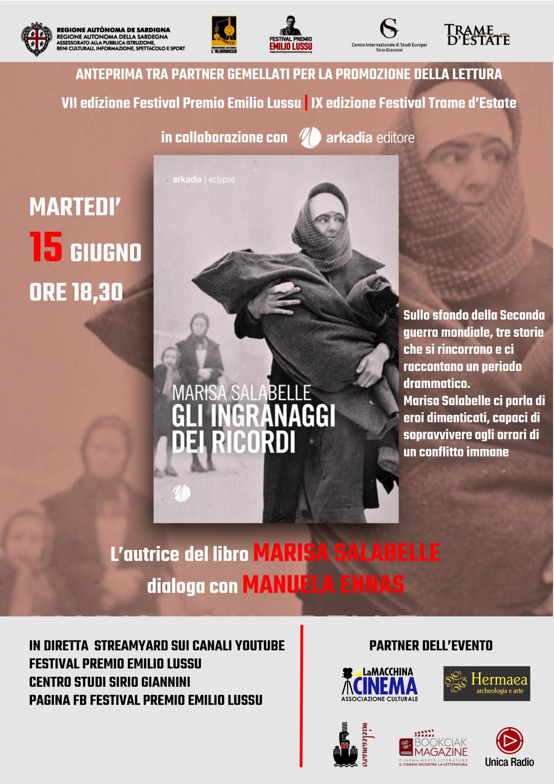 """Presentazione Di """"Gli Ingranaggi Dei Ricordi"""" Di Marisa Salabelle"""