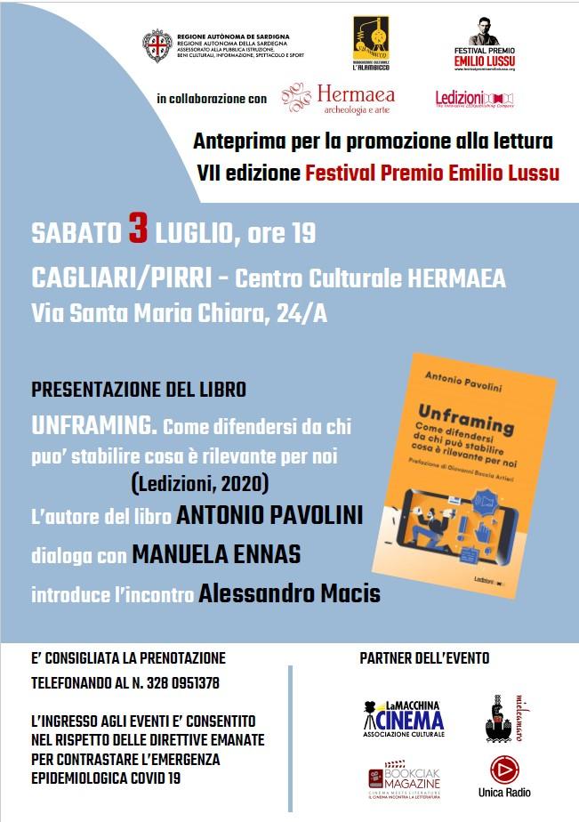 """Presentazione Di """"Unframing"""" Di Antonio Pavolini"""
