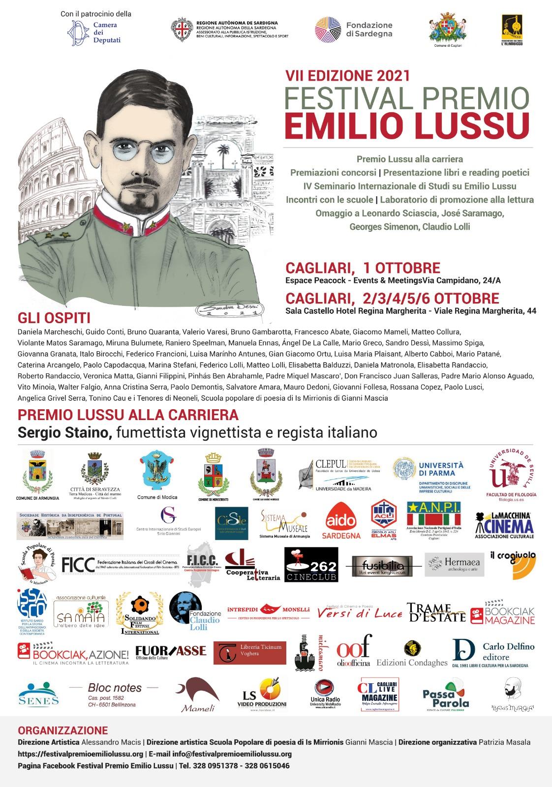 Festival Premio Emilio Lussu 2021